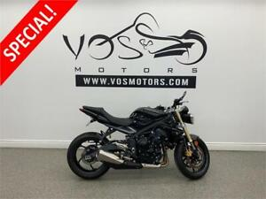 2015 Triumph Street Triple - V3505 - No Payments For 1 Year**
