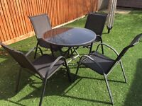 Garden Patio Table and Chairs for sale