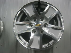 chevrolet 17'' wheels