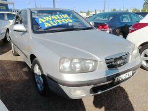 2002 Hyundai Elantra XD GLS Metallic Silver Automatic Sedan Minchinbury Blacktown Area Preview
