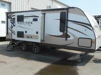2015 Whitehawk 24 RDB U-SHAPED DINETTE SLIDE TRAVEL TRAILER