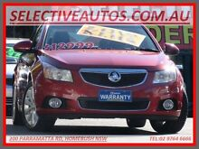 2011 Holden Cruze JH MY12 CDX Maroon 6 Speed Automatic Sedan Homebush Strathfield Area Preview