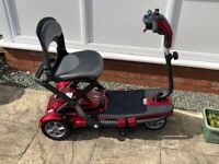 Brand new QUEST Pride mobility scooter