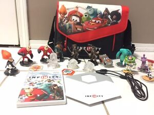 Disney Infinity for Wii with Carrying Case