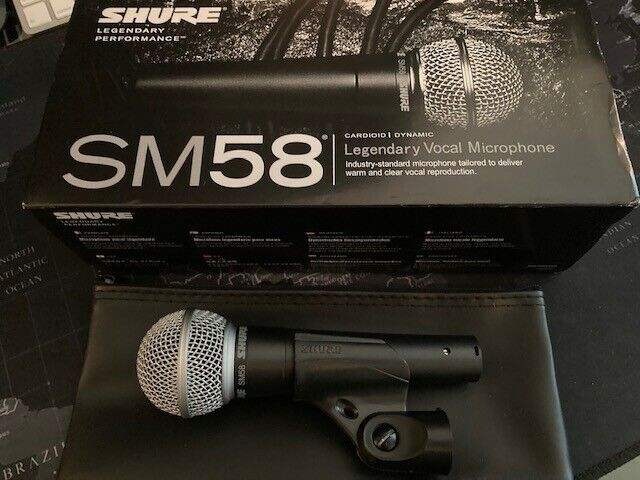 SHURE SM58 Vocal Microphone New in Box
