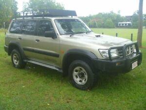 2001 Nissan Patrol GU II ST Gold 5 Speed Manual Wagon Stuart Park Darwin City Preview