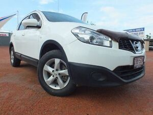2011 Nissan Dualis J10 Series II MY2010 +2 Hatch X-tronic ST White 6 Speed Constant Variable Rosslea Townsville City Preview