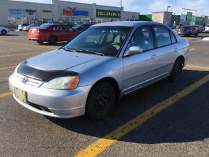 2001 Honda Civic LX Sedan *1,800 Or Best Offer*