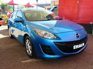 2009 Mazda 3 BL10F1 Neo Blue 6 Speed Manual Hatchback Minchinbury Blacktown Area Preview