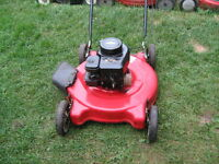 Lawnmower Tondeuse a gazon