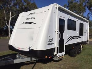 CARAVAN HIRE ROCKHAMPTON: 2013 Jayco Sterling Luxury Gracemere Rockhampton City Preview