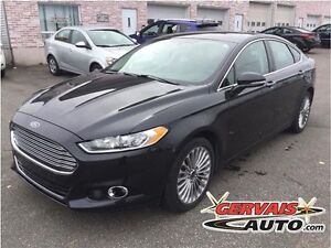 Ford Fusion Titanium AWD Navigation Cuir Toit Ouvrant MAGS 2015