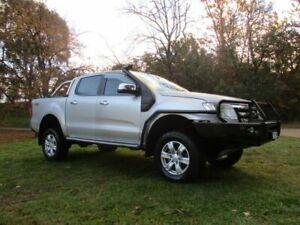 2012 Ford Ranger PX XLT Double Cab Silver 6 Speed Manual Utility Lucknow East Gippsland Preview