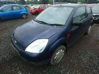 BREAKING FORD FIESTA BLUE FINESSE MK6 2003 3DR 1.3 PETROL MANUAL 89K