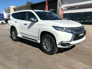 2019 Mitsubishi Pajero Sport QE MY19 GLX White 8 Speed Sports Automatic Wagon Muswellbrook Muswellbrook Area Preview