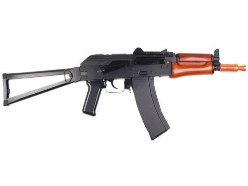 SRC AK 74U Gas Blowback Airsoft Rifle 390-450 FPS