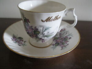 PERFECT GIFT FOR YOUR MOM!! BLUEBIRD FINE BONE CHINA - MINT