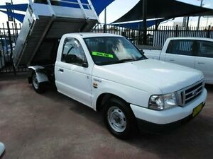 2003 Ford Courier GL 2WD White Manual CABchassic Rossmore Liverpool Area Preview