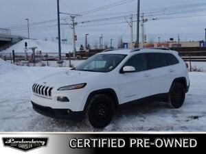 2015 Jeep Cherokee 4WD NORTH Accident Free,  Heated Seats,  Remo