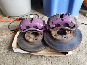 Calipers, discs and pads from a 99 mustang gt