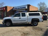 2004 GMC SIERRA 2500HD EXT. CAB 2WD READY TO GO!! ONLY $5400