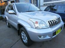 2003 Toyota Landcruiser Prado GRJ120R GXL Silver 4 Speed Automatic Wagon Clyde Parramatta Area Preview