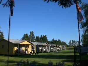 Lady Slipper Cottages - free firewood and use of kayaks