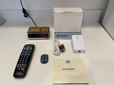 X-10 home automation lot. Various devices.