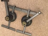 Pair of Uni-Lock Speaker Stands