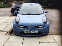 NISSAN MICRA 1.4 SPORT PLUS 5DR Manual (blue) 2006