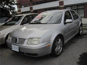 2000 Volkswagen Jetta GLS VR6 |  Leather  |  Sunroof  |