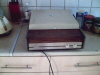 fidelity record player 33 45 old school,collectors 80,s 70,s antiques