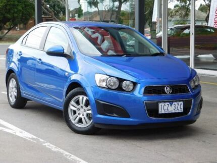 2014 Holden Barina TM MY14 CD Blue 6 Speed Automatic Sedan Fawkner Moreland Area Preview