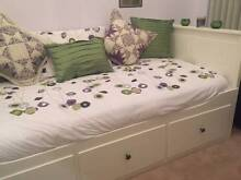 Ikea White Trundle Bed Mallabula Port Stephens Area Preview