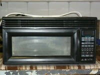 Whirlpool Microwave (over the range)