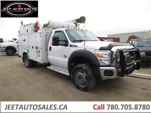2011 Ford Super Duty F-550 Service truck with VMAC and Crane
