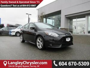 2013 Ford Focus ST <B>*TOUCHSCREEN MEDIA*SUNROOF*LEATHER*<b>
