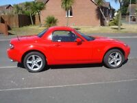 REDUCED MUST SELL THIS WEK 2007 MAZDA MX5 HAR TOP CONVERTIBLE HEATED LEATHER SEATS LOW MILES