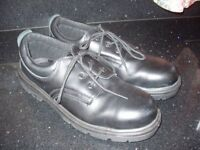 ARCO MENS STEEL TOE CAPPED LEATHER SHOES SIZE 11 - SUBERB CONDITION