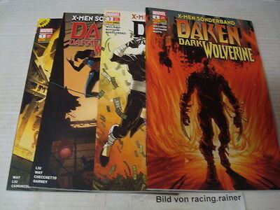X-Men Sonderband Daken Dark Wolverine 1-4 komplett Panini 1,2,3,4