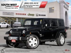 2012 Jeep Wrangler Unlimited   A/C   Cruise   4X4   7 Speaker In