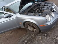 JAGUAR S-TYPE 2.7 TD 2007 BREAKING FOR PARTS SPARES OR REPAIR GOOD ENGINE