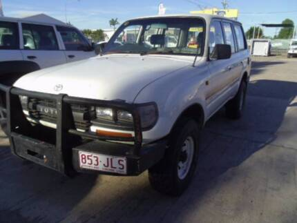 80 SERIES LANDCRUISER'S WRECKING 5 JUST ARRIVED !!! Mount Louisa Townsville City Preview