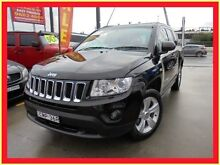 2013 Jeep Compass MK MY13 Sport Black 6 Speed Continuous Variable Wagon Holroyd Parramatta Area Preview