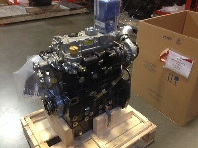 Perkins Diesel Engine 404c-22t Same As Cat 3024 Turbo Used In Skid Steer