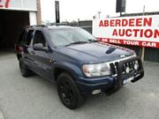 2001 Jeep Grand Cherokee WG Laredo (4x4) Blue 4 Speed Automatic 4x4 Wagon West Perth Perth City Area Preview