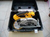 Dewalt DC390N bare unit circular rip saw, brand new unused