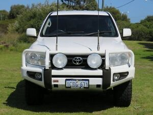 2007 Toyota Landcruiser VDJ200R GXL (4x4) White 6 Speed Automatic Wagon East Rockingham Rockingham Area Preview