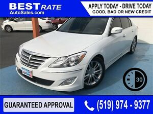 HYUNDAI GENESIS - APPROVED IN 30 MINUTES! - ANY CREDIT LOANS