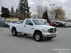 2009 DODGE RAM 2500 REGULAR CAB LONG BOX 4X4 **DIESEL**